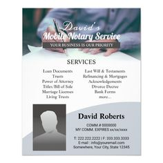 Business Essentials, Business Ideas, Business Cards, Cold Calling Scripts, Notary Service, Mobile Notary, Last Will And Testament, Notary Public, Refinance Mortgage