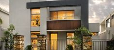 modern house plans with balconies with 2 storey house designs townsville with pe. modern house plans with balconies with 2 storey house designs townsville with peeling paint inside 2 Story House Design, Small House Interior Design, House Design Photos, Modern House Design, Double Storey House Plans, 2 Storey House, Storey Homes, Design Living Room, Modern House Plans