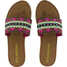 Billabong Mirror Mirror Sandal ($14) ❤ liked on Polyvore featuring shoes, sandals, billabong, mirror shoes, strappy sandals, billabong shoes and billabong sandals