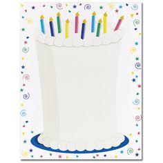 Cake Letterhead