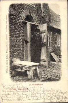 Ansichtskarte / Postkarte Westerland auf Sylt, Bauerngehöft, Nordfriese #Sylt
