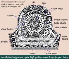 Polynesian Samoan Tattoos. Meaning