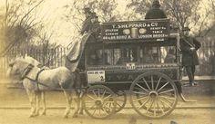 Horse Omnibus on Holborn Viaduct,1869