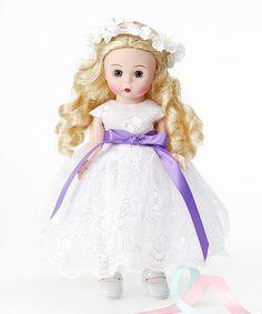 Purple-Ribbon 8'' Flower Girl Doll by Madame Alexander #zulily #zulilyfinds