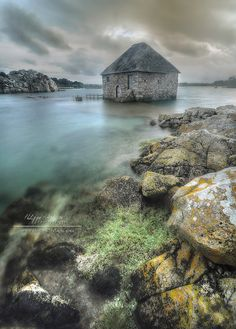 I love this guy's work! Ile de Brehat - Côtes d'armor - le moulin à marée du Birlot by philippe MANGUIN photographies, via Flickr
