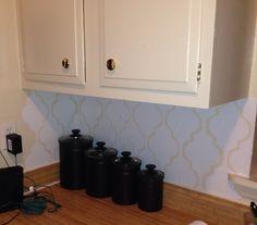 Kitchen Backsplash Contact Paper placemat backsplash | bngreat design | pinterest | placemat, how