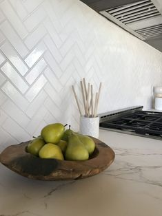 Newest Snap Shots Fireplace Remodel herringbone Concepts The Canal House: Herringbone Tile Backsplash White Herringbone Tile, Herringbone Backsplash, Herringbone Pattern, Glass Backsplash Kitchen, Glass Tile Kitchen Backsplash, Backsplash Cheap, Subway Tile Backsplash, Kitchen Countertops, Kitchen Cabinets