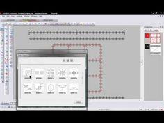 BERNINA Embroidery Software 6 - Blackwork Border - Tool Tip 12
