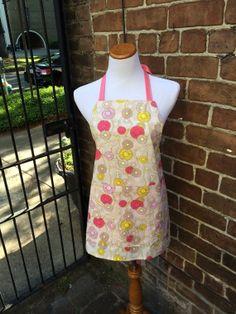 Garden Apron by #LoveofPattern on Etsy, $42.00 #madeinsavannah #savannah #georgia #handmade #apron #garden