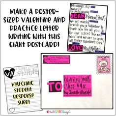 February Anchor Charts and Class Posters