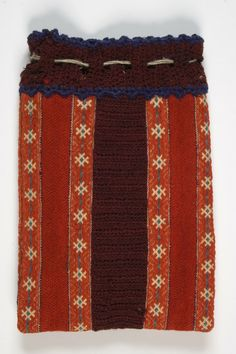 Eesti muuseumide veebivärav - vardakott - patch from Estland Folk Costume, Costumes, Patchwork Bags, Band, Nifty, Handicraft, Fiber Art, Textiles, Stitch