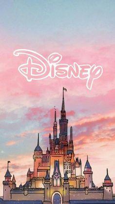 Disney Wallpaper - # Disney # Disney # Hintergrund - # Disney # Disney # a . Disney Art, Disney Movies, Kawaii Disney, Disney Ideas, Disney Castle Drawing, Disney Animation Studios, Disney Mignon, Disney Phone Wallpaper, Phone Wallpapers