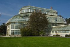 The Botanic Gardens In Glasnevin - really Big Glasshouse