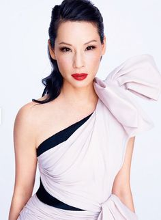 Lucy Liu as Dr Joan Watson from the show Elementary