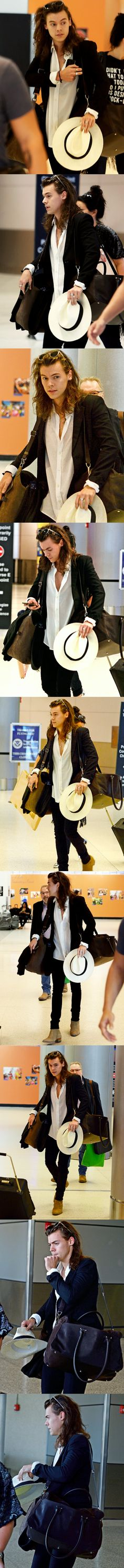 Harry Styles arriving at Miami airport - 12/26