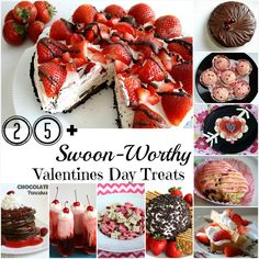 25+ Easy, Swoon-Worthy Valentines Treats- LOVE this list!