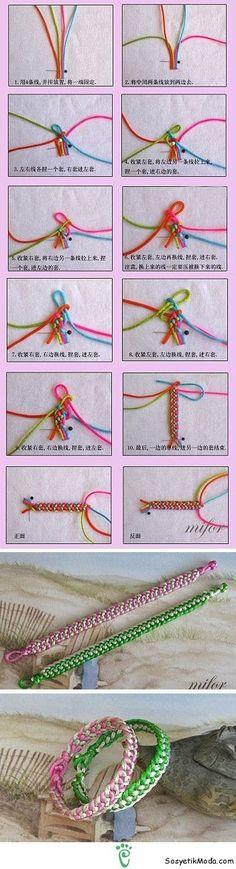 Pratik Bileklik Yapımı bileklik yapımı (11) – Sosyetikmoda.com ~ Kadınların moda mekanı