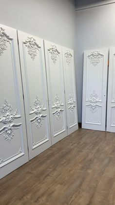 The designers of the studio ivdesign have chosen our doors for an apartment in St. Petersburg. 8 door's blocks. Finishing in one color - matte enamel. Baroque Fashion, Wooden Doors, Bathroom Lighting, Fountain, Traditional, Luxury, Unique, Designers, House