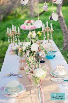 'The Marvelous Vintage Tea Party'