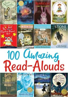 Looking for a new read aloud book for your classroom or homeschool? Don't miss this list of 100 amazing read alouds for kids of all ages!