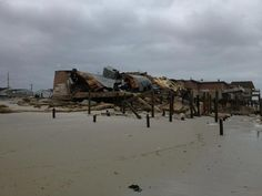 Whats left of the Surf Club. Ortley Beach