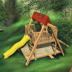 Free Children's Playground Plans - Woodwork City Free Woodworking Plans