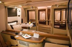 Singapore Airlines private 'suites'. who likes?