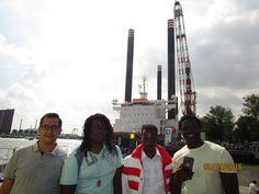 Een groepje cursisten is afgelopen weekend naar de Wreledhavendagen in Rotterdam geweest.