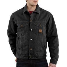Carhartt® Men's Denim Jean Jacket -- looks vintage and it'll last forever!