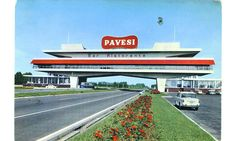 Autogrill Pavesi, Galiate (Novara), anni Sessanta