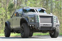Heavily modified Ford F-350. Yay or nay?