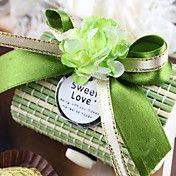 Λουλούδι ξύλινο κουτί καραμέλες Με Κορδέλα Bo... – EUR € 32.66
