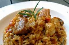 Cocina – Recetas y Consejos Main Dishes, Side Dishes, Spanish Kitchen, Arroz Frito, Cuban Cuisine, Yellow Rice, Cooking Recipes, Healthy Recipes, Yum Yum Chicken