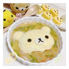 今夜は寄せ豆腐コリラックマ。