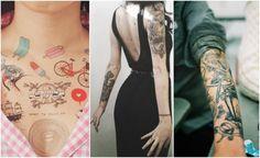 Przegląd inspiracji: tatuaże, które zmienią Twoje życie. Trendy 2016/2017 #TATUAŻ #GALERIA #WZORY #KOBIETA #TATUAŻE