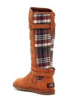 Plaid Ugg boots, fall fashion