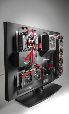 Case Mod Friday: ROG Wall | Computer Hardware Reviews - ThinkComputers.org