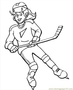 Here is Hockey Coloring Sheets for you. Hockey Coloring Sheets free printable coloring pages hockey players pusat hobi. Sports Coloring Pages, Online Coloring Pages, Coloring Pages To Print, Free Printable Coloring Pages, Colouring Pages, Coloring Pages For Kids, Coloring Sheets, Coloring Books, Fall Coloring