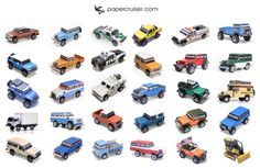 Some of my paper models... http://www.papercruiser.com
