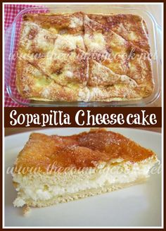 The Country Cook: Sopapilla Cheesecake {so simple yet SO good!!}