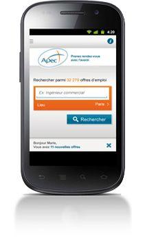 Apec.fr - Portail - Accueil - Recrutement et offres d'emploi cadres