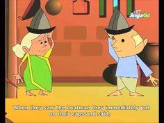 Fabulous Folk Tales - Tree Trunk For Boat - Kids Animation Stories
