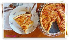 Francia almás pite | Anna konyhája Tart, French Toast, Anna, Breakfast, Food, France, Morning Coffee, Pie, Essen