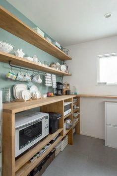 Cheap Kitchen Renovation Ideas - Small Kitchen Designs With A Budget Farmhouse Style Kitchen, Modern Farmhouse Kitchens, Diy Kitchen, Home Kitchens, Kitchen Decor, Kitchen Ideas, Kitchen Cupboard, Kitchen Designs, Kitchen Soffit