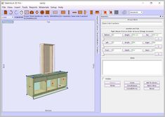 SketchList 3D Furniture Design Software Version 4 Shop, Windows Version | Woodworking and Spaces
