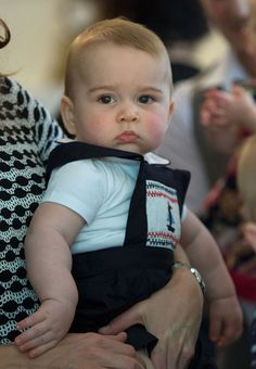 What a heartbreaker! Prince George on tour with his parents William and Kate in New Zealand and Australia