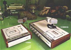 philips 1973 cassette decks