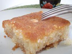 Nammoura Some Recipe, Recipe Using, Tahini Paste, Semolina Cake, Lebanese Recipes, Fresh Milk, Cake Batter, Vanilla Cake, Cravings