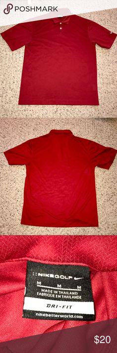 NIKE Dri Fit Golf Shirt. Like New! NIKE Dri Fit Golf Shirt. Like New! Nike Shirts Polos