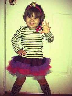 I wish I could wear tutus and leg warmers and everyone would think it's cute.